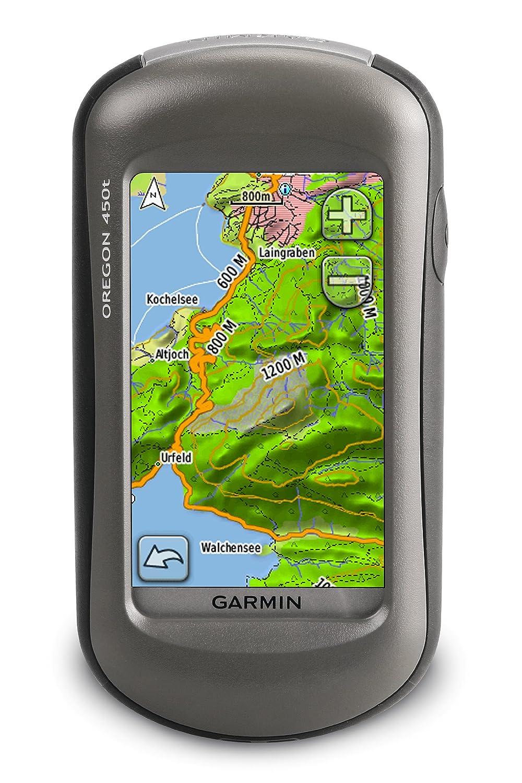 Garmin Oregon 450T GPS Unit - Topographical Maps of Europe: Amazon.co.uk:  Electronics
