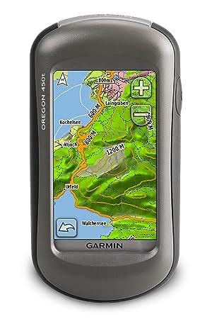 Garmin Oregon T Gps Unit Topographical Maps Of Europe