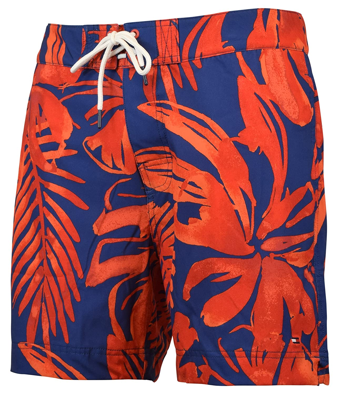 6db106644b Tommy Hilfiger Men's Floral Board Shorts Swim Trunks | Amazon.com