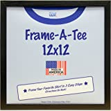t shirt frame 12x12 black