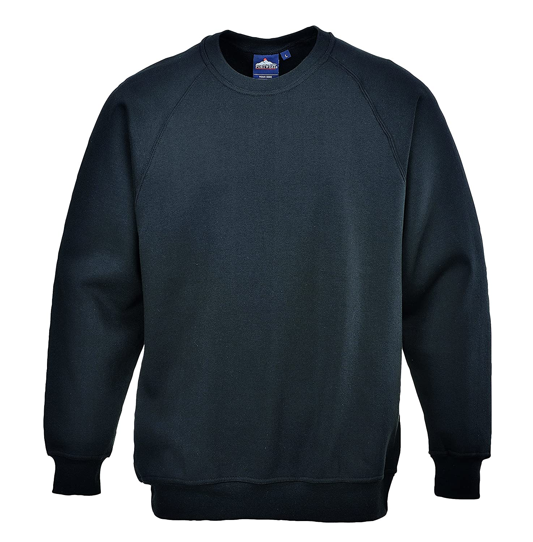 Portwest B300NARL Large Poly Cotton Sweatshirt - Navy Portwest Retail Ltd