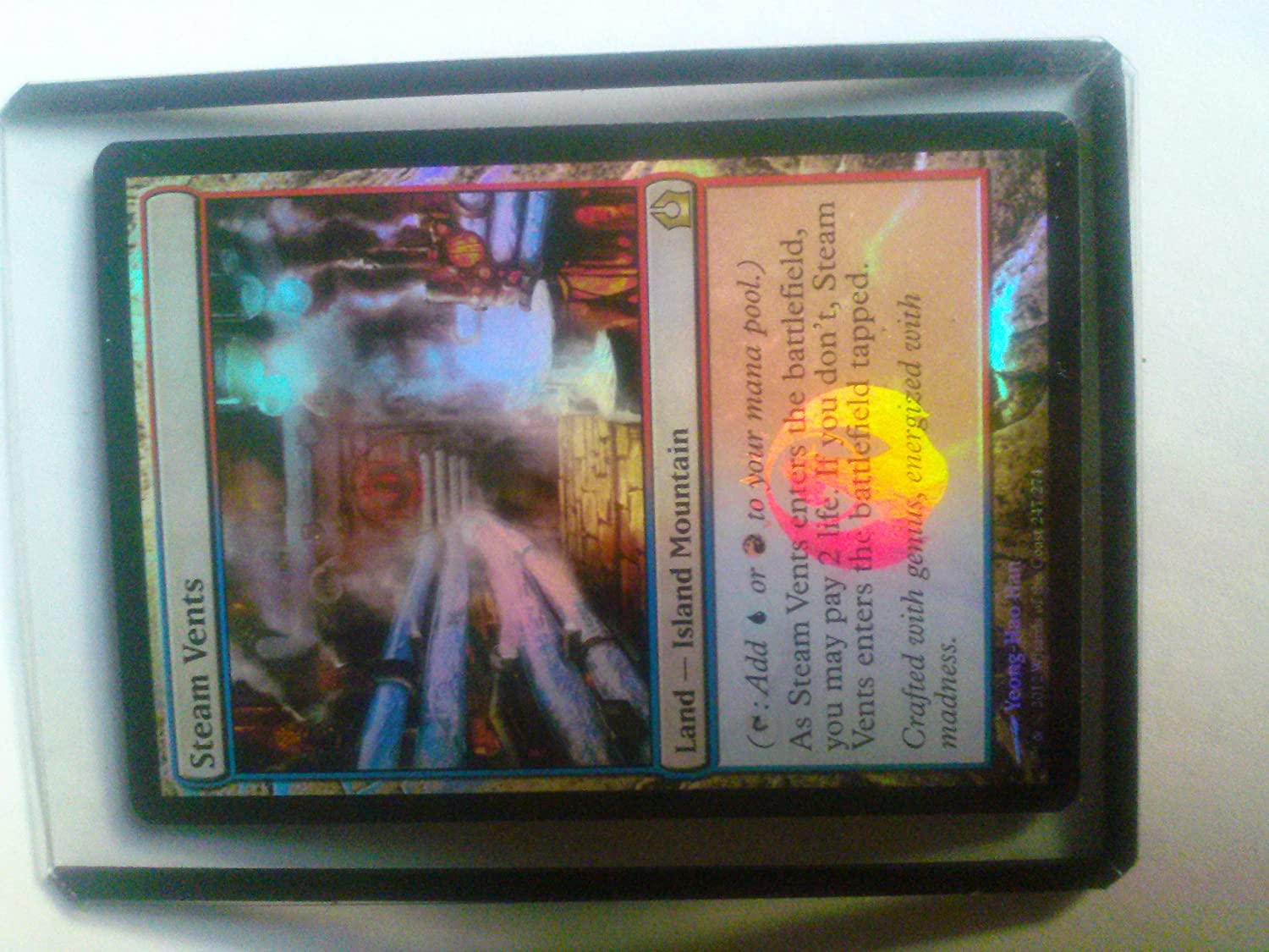 Magic: the Gathering - - - Steam Vents (247) - Return to Ravnica - Foil by Magic: the Gathering bcebb4