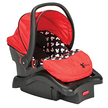 Disney Light N Comfy Luxe Infant Car Seat Mickey Silhouette