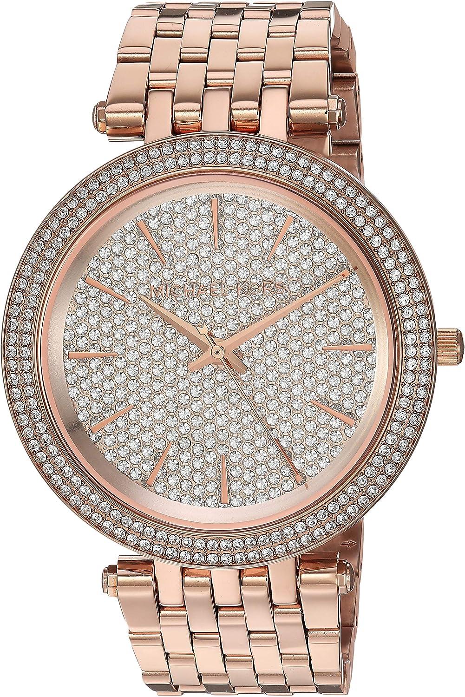 Michael Kors Women's Darci Rose Gold Tone Watch MK3439