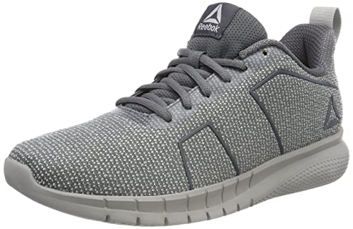 7e8fa650734313 Reebok Men s Instalite Pro Running Shoes Grigio Grigio Grey (Alloy Stark  Grey 000