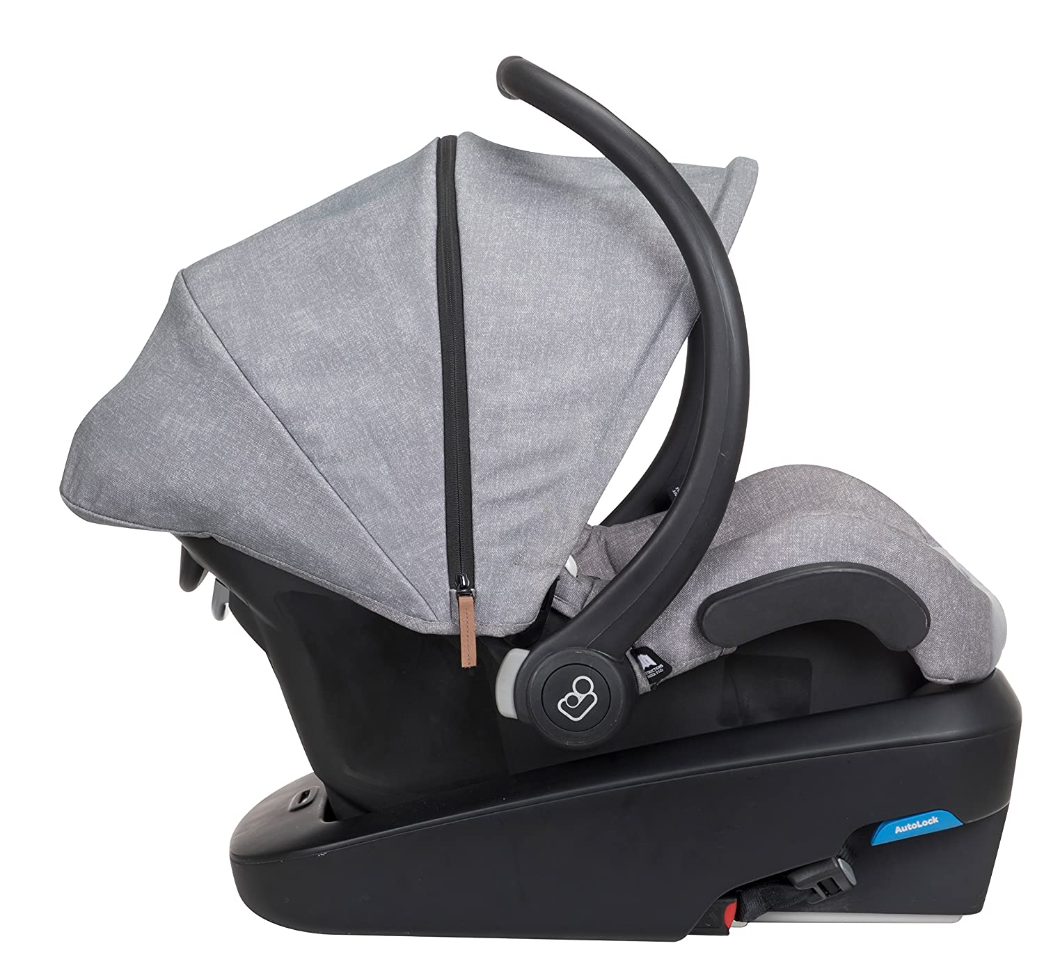 Maxi-Cosi Mico Max Plus Infant Car Seat With Base, Nomad Grey, One Size