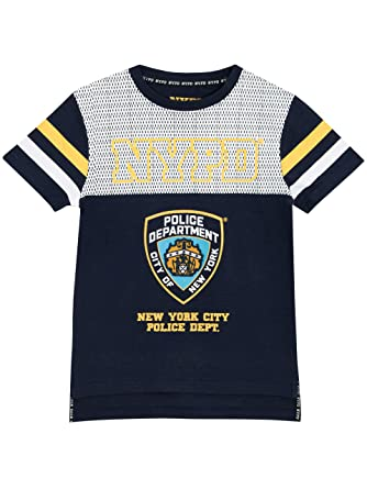 f8eeb7473 NYPD Boys New York City Police Department T-Shirt Age 10 to 11 Years: Amazon .co.uk: Clothing