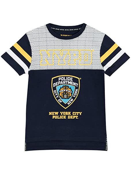 c42d2f17 Amazon.com: NYPD Boys New York City Police Department T-Shirt: Clothing