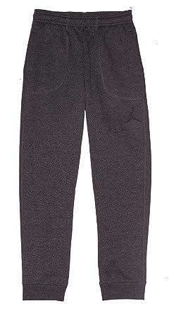 24728a447c3d Jordan Nike Boys Air Core Varsity Fleece Cuffed Jogger Sweat Pants Grey  Small
