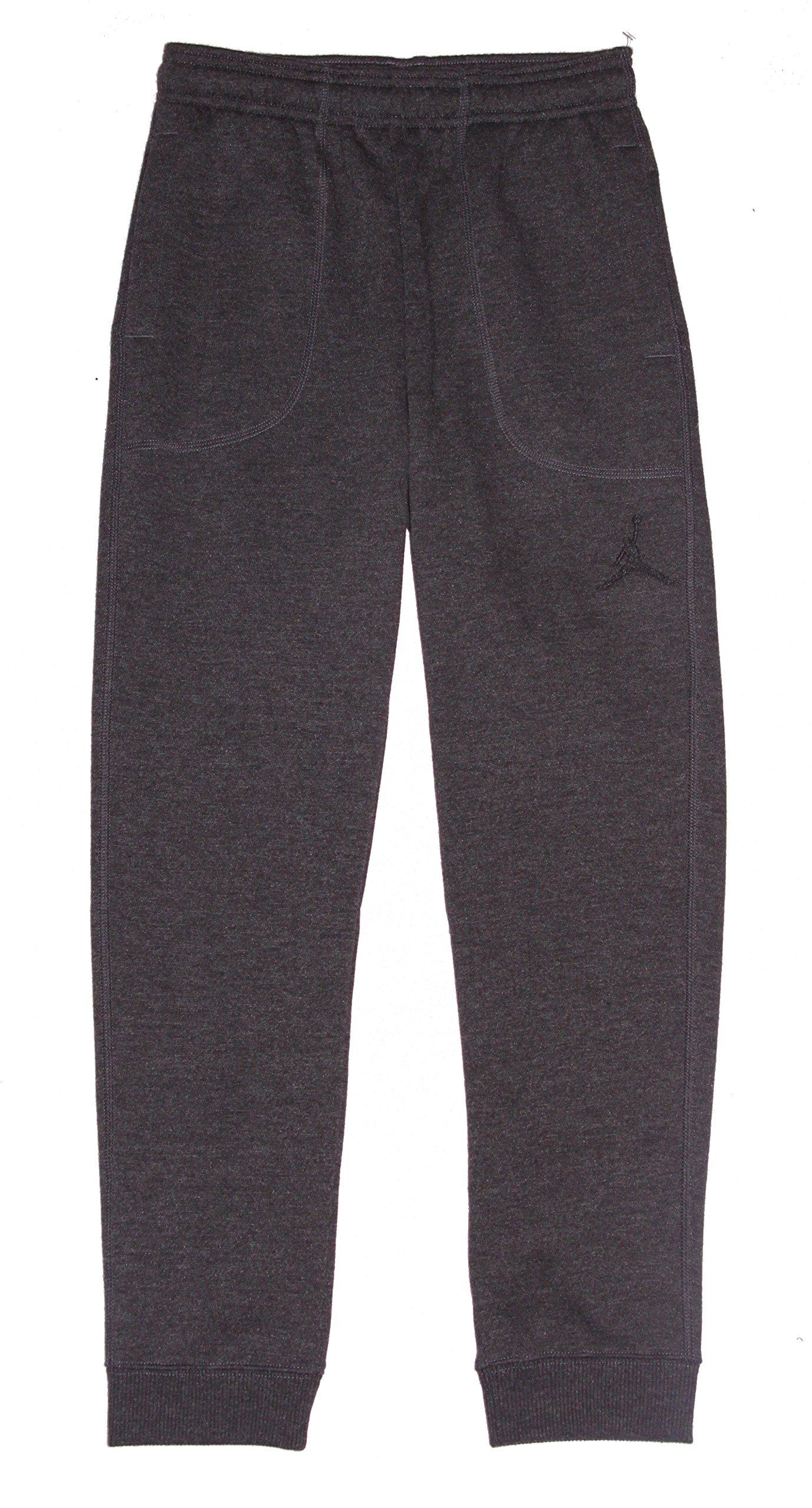 017b7c942862 Galleon - Jordan Nike Boys Air Core Varsity Fleece Cuffed Jogger Sweat Pants  Grey Large