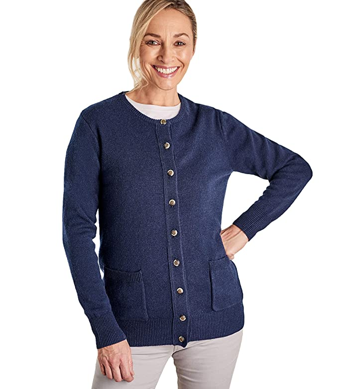 Col Femme Wool Rond Overs Cardigan À Laine D'agneau odCBQexWr