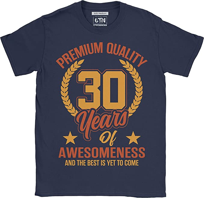 6TN 30 años de asombro y lo Mejor aún está por Llegar 30 años Camiseta de cumpleaños