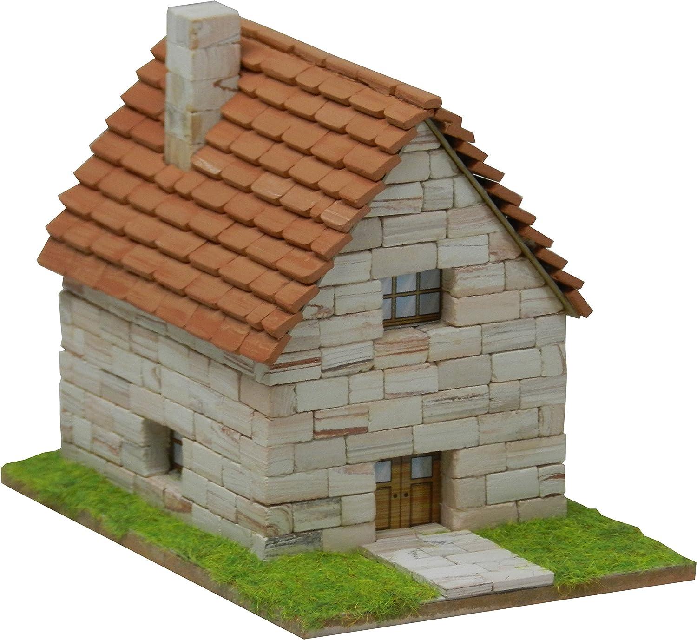 maqueta casa ladrillos