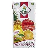 24 Mantra Organic Mixed Fruit Juice, 1 Liter