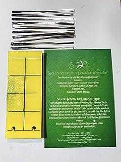 gegen Trauermücken Gelbtafeln Leimtafeln 25 Stück 1 Stück=0,32€