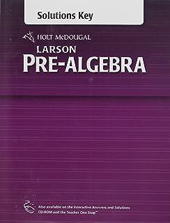 amazon com holt mcdougal larson pre algebra teacher one stop dvd rh amazon com