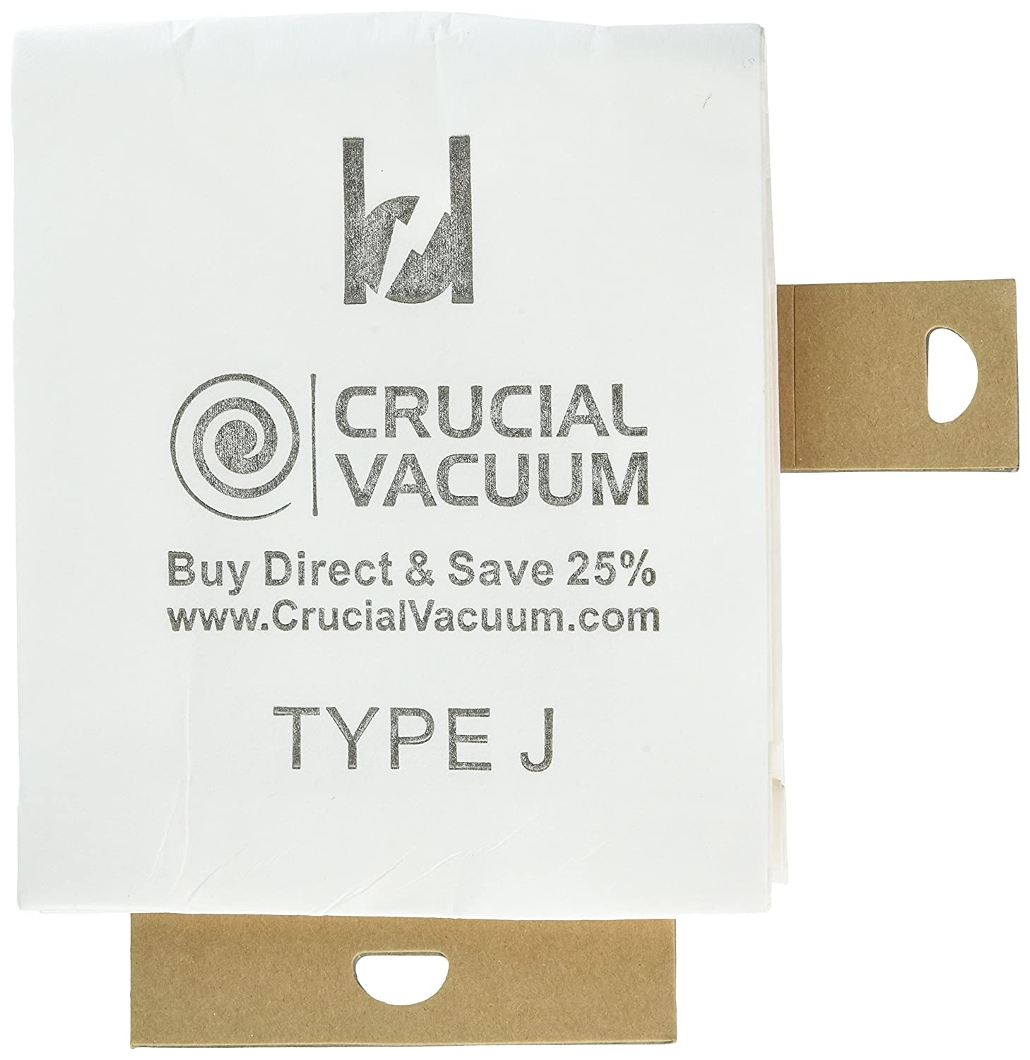 Think Crucial 3 Replacements for Eureka J Bags Fit Everpure Uprights, Compatible With Part # 61515 & 61995