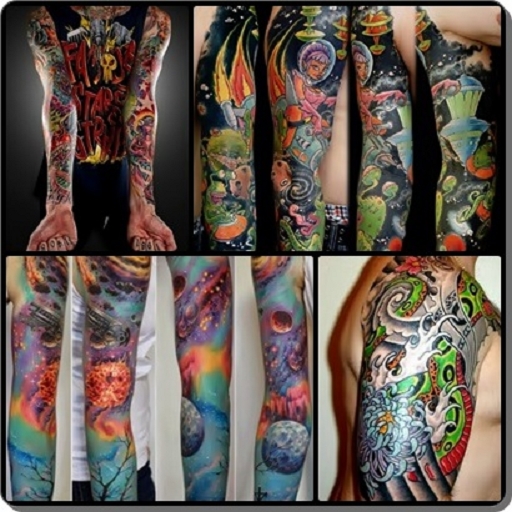 Designs Colorful Tattoo Sleeve
