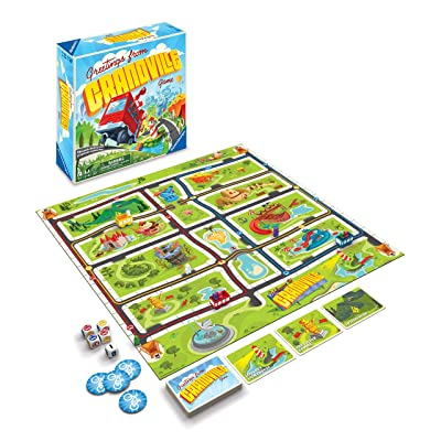 Ravensburger Greetings from Grandville Game for Boys & Girls Age 6 & Up - A Fun & Fast Family Game You Can Play Over & Over: Toys & Games