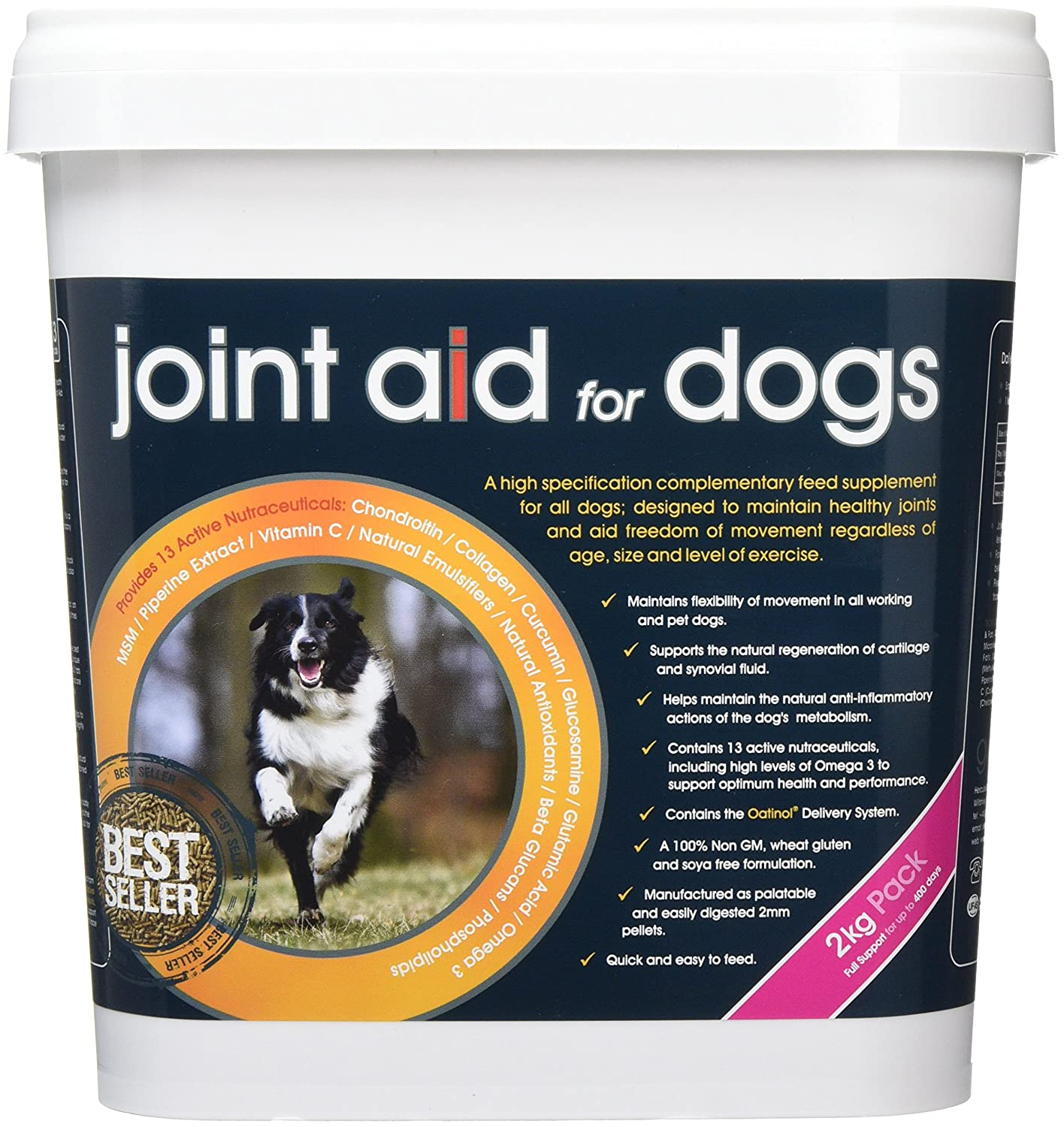 2 Kg GWF Joint Aid For Dogs Food Supplement, 2 kg