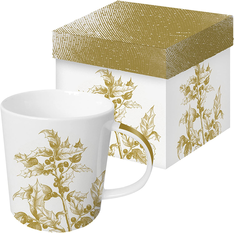 DU Design Kaffee-Becher Tasse // Coffee Mug Porzellan ICH TREND MUG