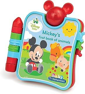 Disney Baby - Baby Mickey's First Book of Animals clementoni 61186 Film & TV Animals