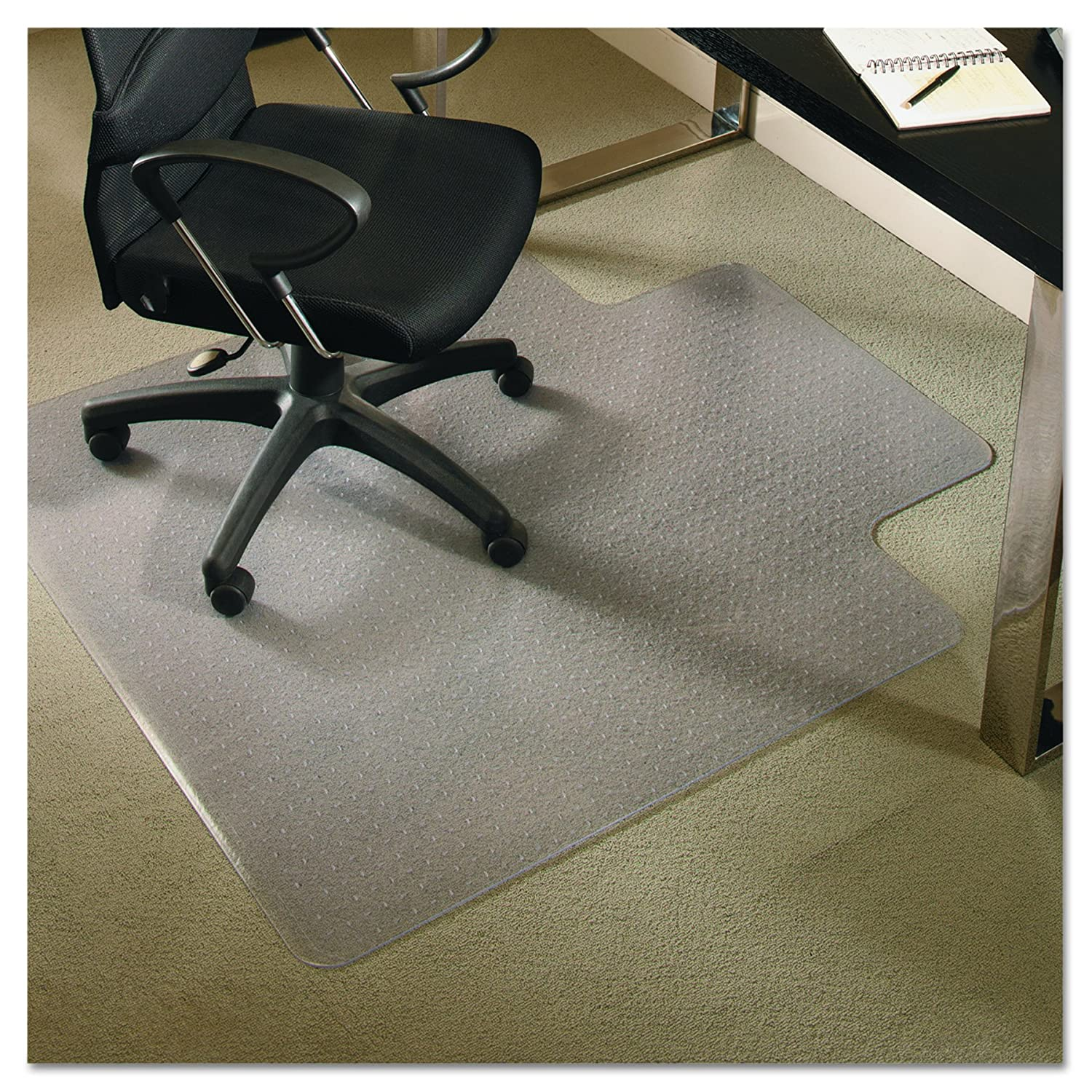 amazon com es robbins 122073 everlife chair mats for medium pile