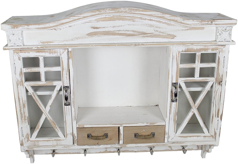 Holz Wandschrank Garderobe: Amazon.de: Küche & Haushalt