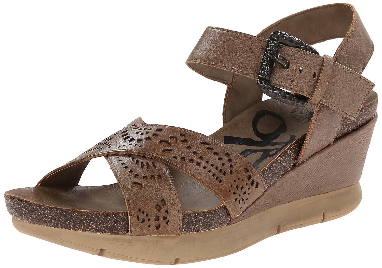 OTBT Women's Gearhart Wedge Sandal B00IJING5G 6.5 B(M) US Grey Powder
