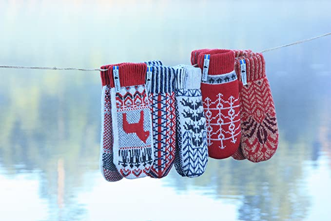 Ojbro Swedish-Made Merino Wool Mittens