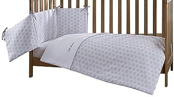 429f5552e5100 Clair de Lune Speckles Cot Bed Set (Grey