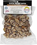 Fresh is Best - Freeze Dried Raw Whole Duck Heart Treats for Dogs/Cats - 3 oz.