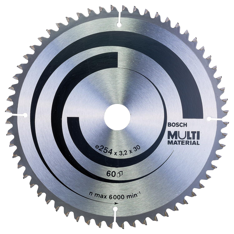 60 Bosch Professional Zubeh/ör 2608640446 Kreiss/ägeblatt Multi Material 216 x 30 x 2,5 mm