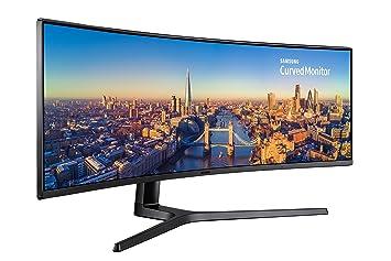 """Samsung C49J890DKU 49"""" LED Curva Negro Pantalla para PC - Monitor (124,5"""