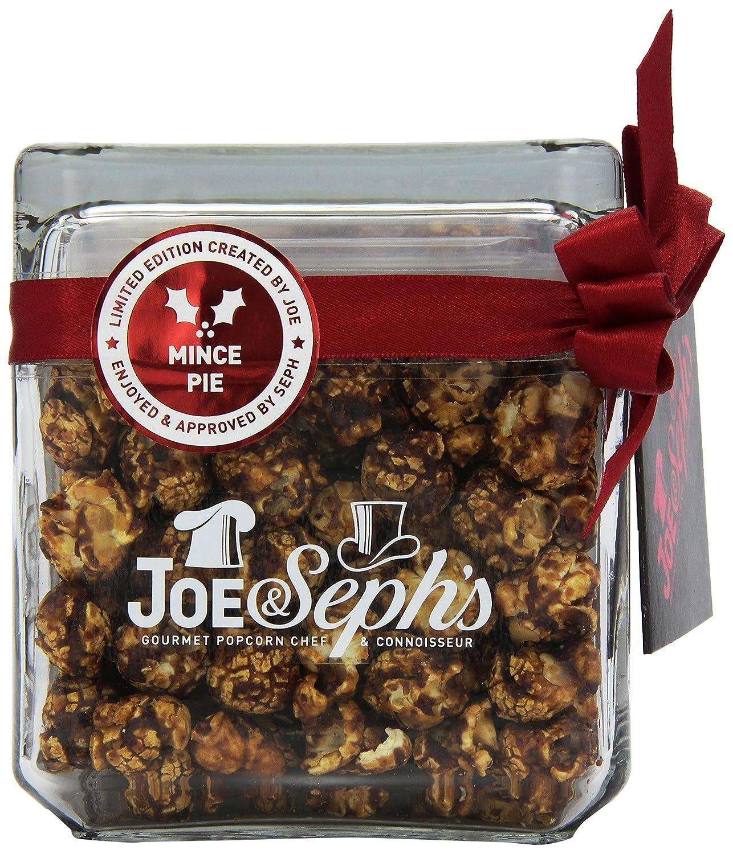 Joe & Seph's Mince Pie Square Glass Popcorn Jar (120g)