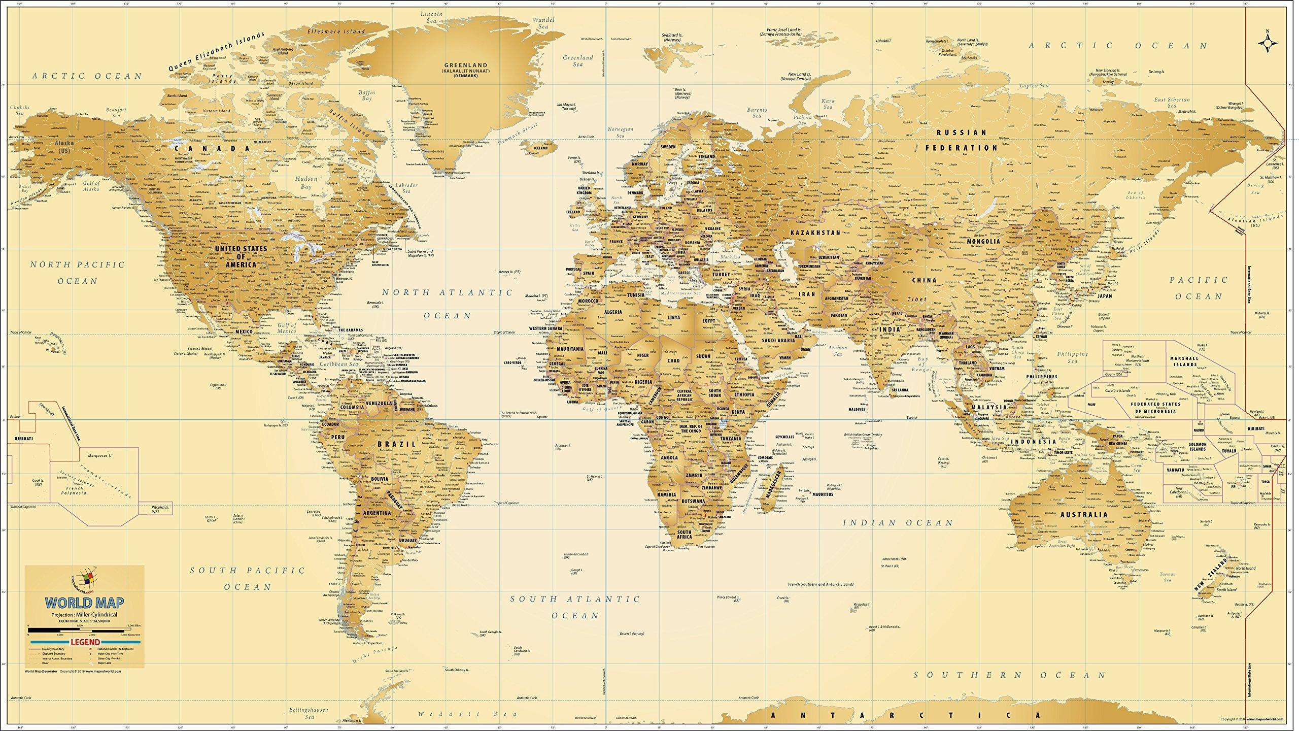 World Map - Decorator