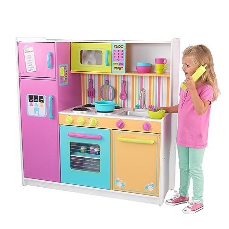 KidKraft 53100 Cucina giocattolo in legno per bambini Deluxe Big and ...