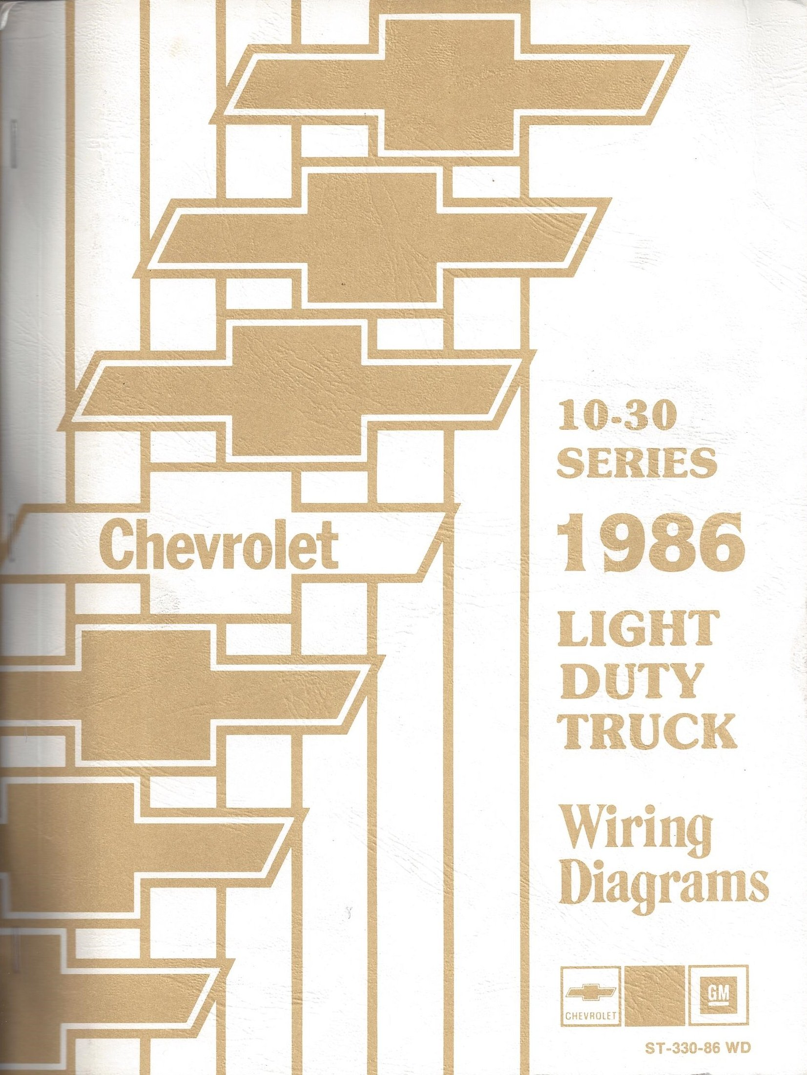 1986 chevrolet light duty truck wiring diagrams (10 30  wiring diagrams for light duty trucks #3
