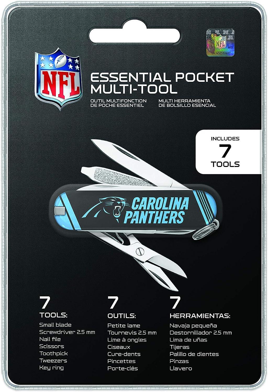 The Sports Vault NFL Unisex NFL Essential Pocket Multi-Tool