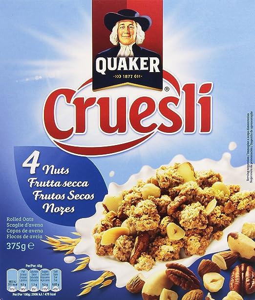 Quaker - Cruesli Nuts 375 g