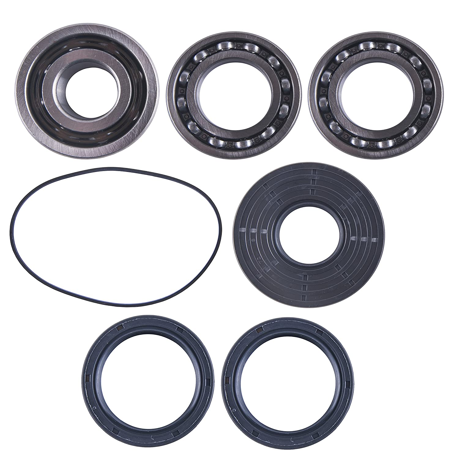 East Lake Axle front differential bearing /& seal kit compatible with Ranger XP//RZR S//RZR XP 900//1000 2017 2018 2019