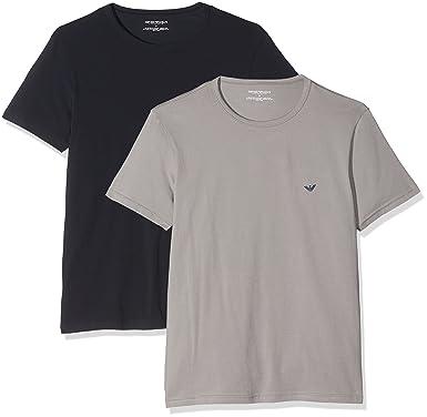 296675fb11c3 Emporio Armani 111267 - T-shirt - Manches courtes - Homme  Amazon.fr   Vêtements et accessoires