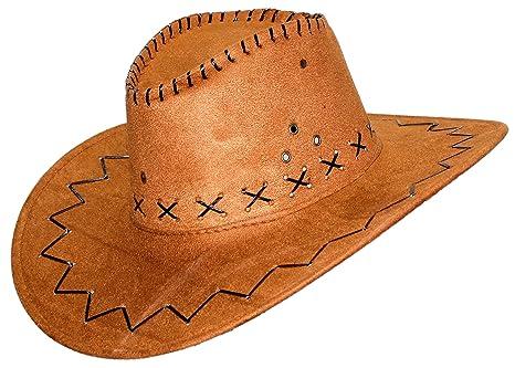 Donna Uomo Sabbia Larga A Cowboy Cappello Tesa Per O Feste Da w7FTqA