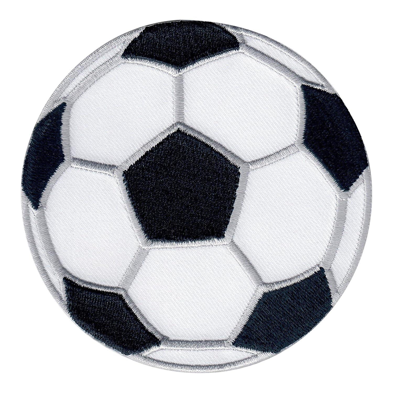 PatchMommy Toppa Termoadesiva Pallone da Calcio Palla Sport Patch Ricamate per Ferro da Stiro Applicazioni Toppe Termoadesive Bambini
