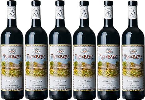 MAS de Bazan for Crianza Coupage España Vinos 2007 (6 x 0.75 l): Amazon.es: Alimentación y bebidas