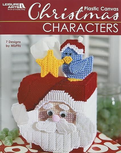 Plastic Canvas Christmas.Leisure Arts Plastic Canvas Christmas Characters