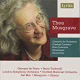 Musgrave - Concerto for Orchestra; Clarinet Concerto