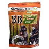 0. 32g Biodegradable GoldenBall BioTac Seamless Airsoft BBs 3100rd Bag