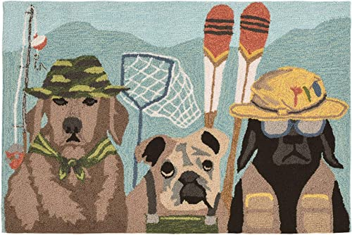 Liora Manne Frontporch Indoor Outdoor Rug, 2 X 3 , Fishing Patrol