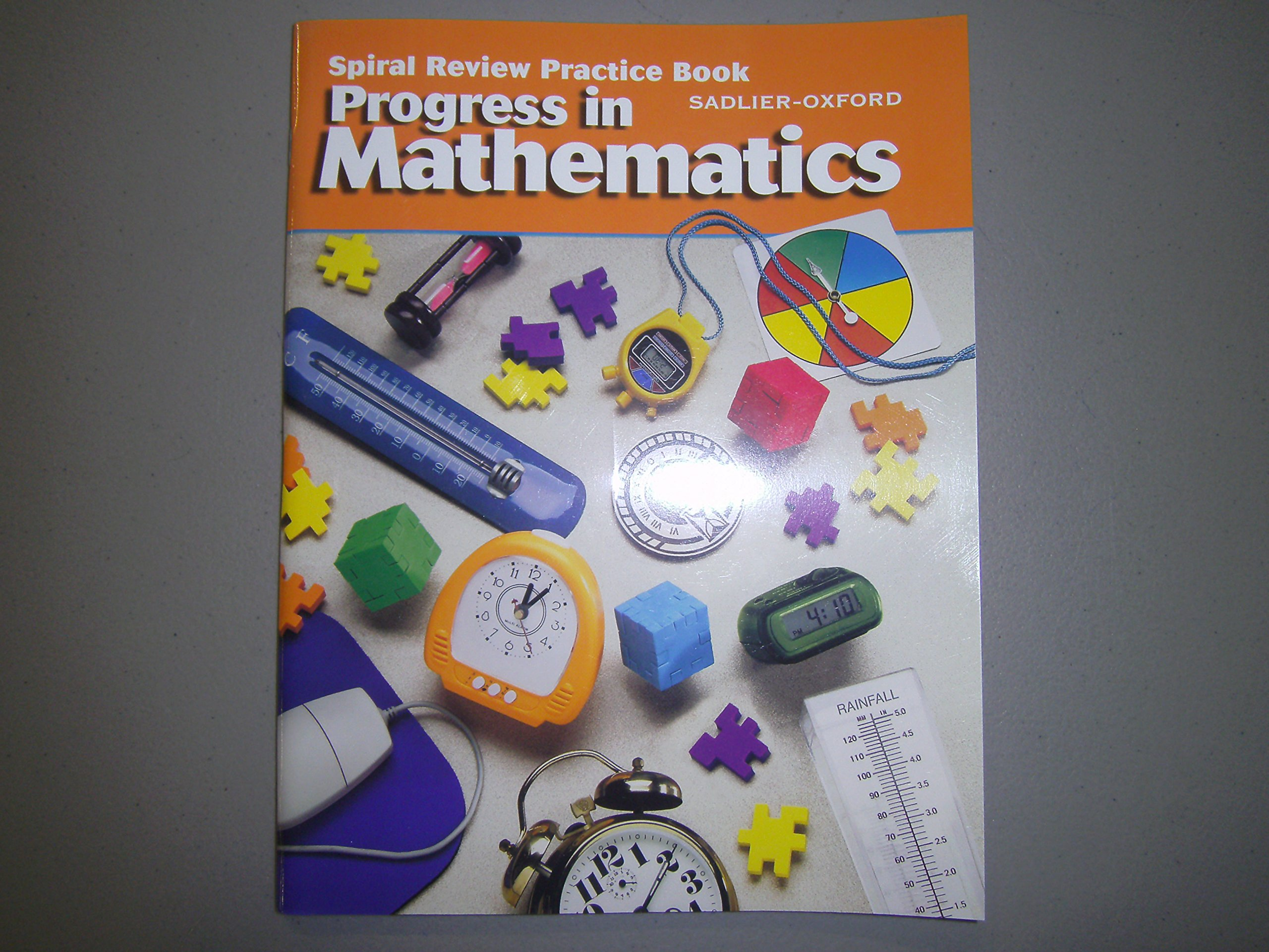Download Progress in Mathematics, Grade 4, Spiral Review Practice Book ebook